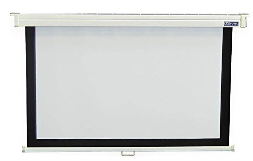 45 in. x 80 in. Econopro Deluxe Manual Wall Screen in 16:9 HDTV -