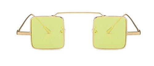 retro C métallique rond du vintage polarisées en lunettes inspirées style cercle Lennon soleil de pBp4AY