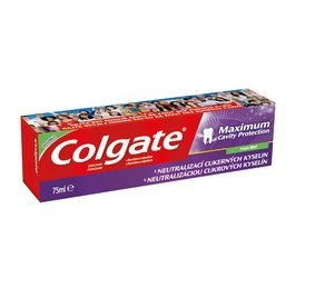 Colgate Maximum Cavity Protection, Remineraliztion, with Sugar Acid Neutralizer (European Import) - 6 COUNT ()