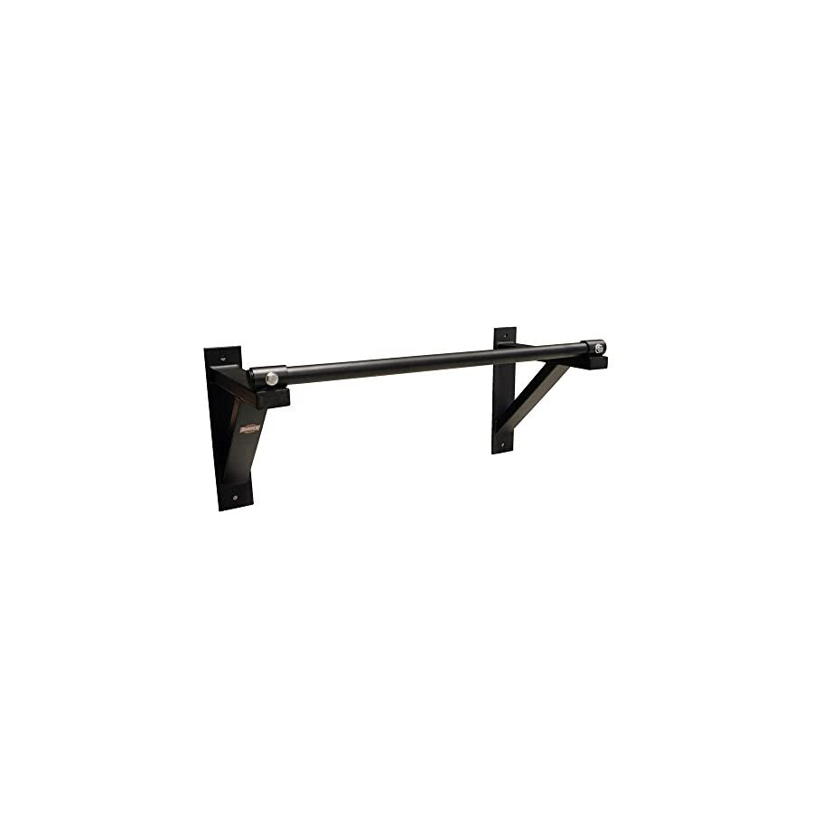 AFG Wall Mounted Pull Up Chin Up Bar Pull Up Bar Wall Mounted Pull Up Chin Up Bar Home Gym Full Body Workout Power Strength Training 300lb capacity