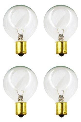 CEC Industries #20-99C Bulbs, 12 V, 13 W, G-16.5 shape (4-pack) (13 Bulb Watt 12v)