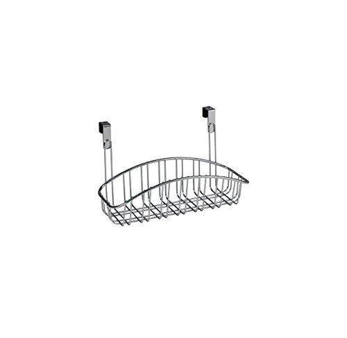 Spectrum Diversified Over-The-Cabinet Contempo Basket, Small, Chrome