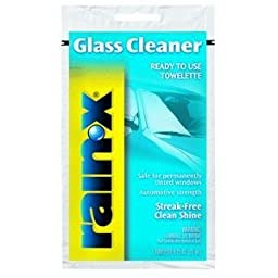 RainX RX68268 Glass Cln .75Oz Towl 24Pk