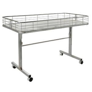 Store Display Tables with Heavy-Duty Casters by Retail Resource