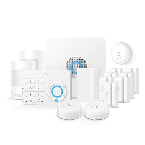 (Ring Alarm Enhanced Protection Kit - Home Security System with optional 24/7 Professional Monitoring - No long-term contracts - Works with Alexa )