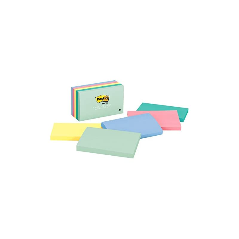 Post-it Notes 655AST Original Pads in Ma