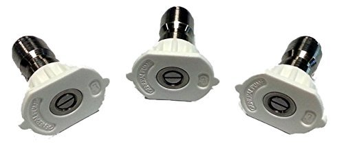 1.35 Orifice x 40 Degree Spray Nozzles for Trikleener Surface Cleaner; 3-Pack
