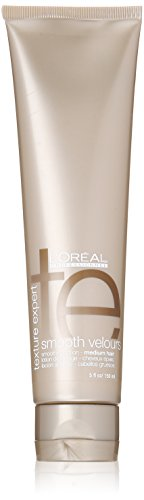 Unisex 5 Oz Lotion (Texture Expert Smooth Velours Smoothing Lotion for Medium Hair by L'Oreal for Unisex Lotion, 5 Ounce)