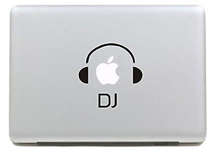 Vati Hojas DJ extraíble Diseño fresco Sticker Decal la piel del vinilo de Arte Negro para