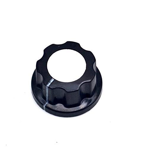 Xinini A02 potentiometer knob Bakelite knob potentiometer knob aluminum cap bakelite hat (Bakelite Hat)