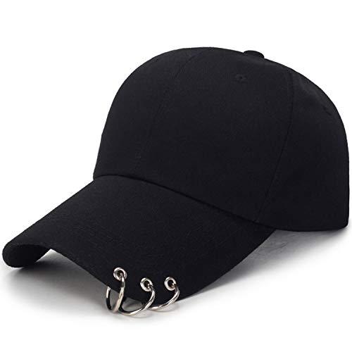 Baseball Cap with Rings BTS Jimin hat BTS suga Cap BTS Live The Wings Tour Kpop BTS Cap Iron Ring Hats