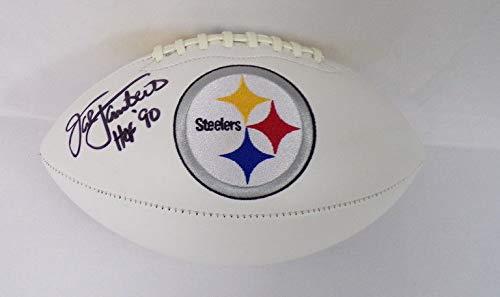 Signed Football Jack Lambert - Jack Lambert Signed Steelers Super Bowl Football BAS Beckett