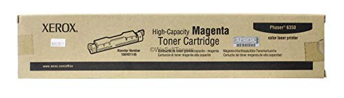 Xerox 106R01145 Phaser 6350 Toner Cartridge (Magenta) in Retail Packaging (6300 Magenta Toner)