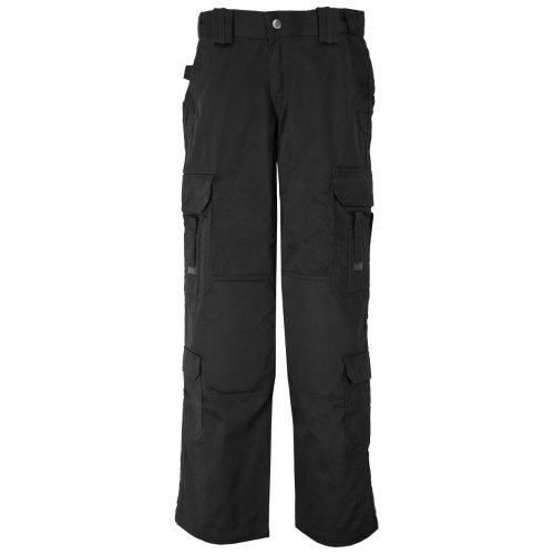 (5.11 Women's EMS Pants 64301, Black, 6R)