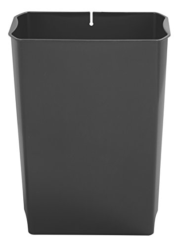 Rubbermaid Commercial Slim Jim End Step-On Trash Can Rigid Liner, Plastic, 13 Gallon