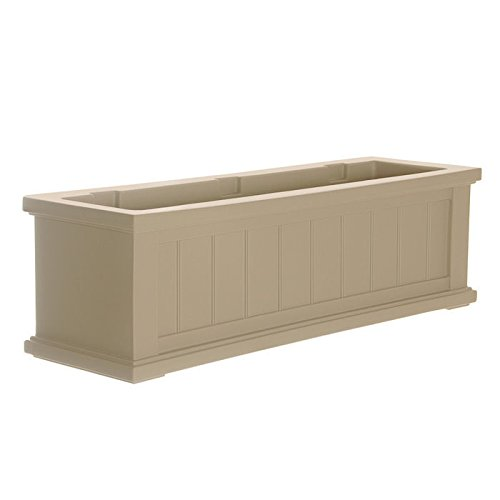 Cape Cod Window Box - Size: 36, Color: Clay