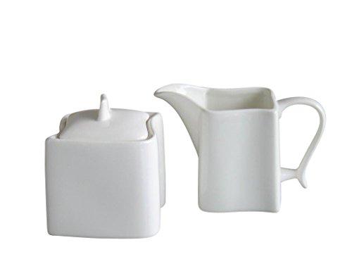 Creatable 18536 Serie Ocean weiß, Milch Zucker Set, 2-teilig