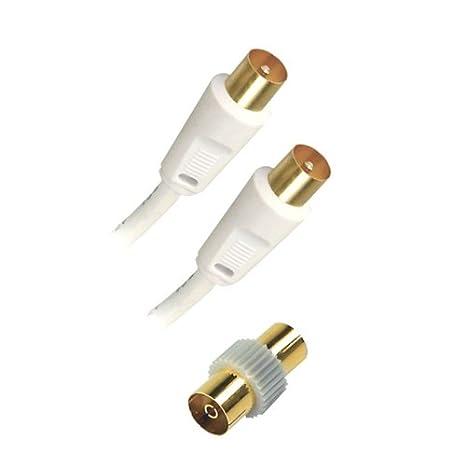 APM 10m RF M/M 10m RF RF Blanco - Cable coaxial (RF,