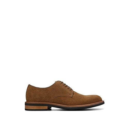 Kenneth Cole REACTION Men's Klay Oxford, Tobacco, 11 M (Men Suede Leather Shoe)