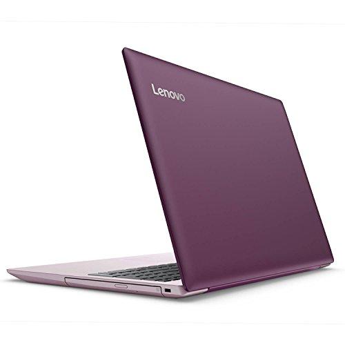 2018 Flagship Lenovo IdeaPad 320 15.6″ HD Laptop – AMD Dual-Core A9-9420 3.0GHz 8GB DDR4 128GB SSD AMD Radeon R5 DVDRW 802.11ac HDMI Bluetooth Webcam 4 in 1 card reader USB 3.0 Win 10 – Plum Purple