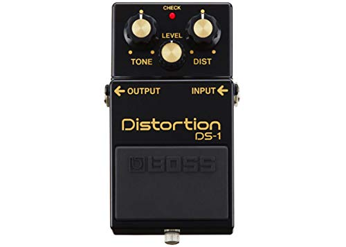 BOSS DS-1 Distortion Guitar Pedal, Black, 40th Anniversary Limited Edition