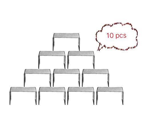 (BYCY Clear Acrylic Riser lot of 10 for Shoes, Jewels, Cupcakes, Tea Sets, Small Toys and Cosmetics)