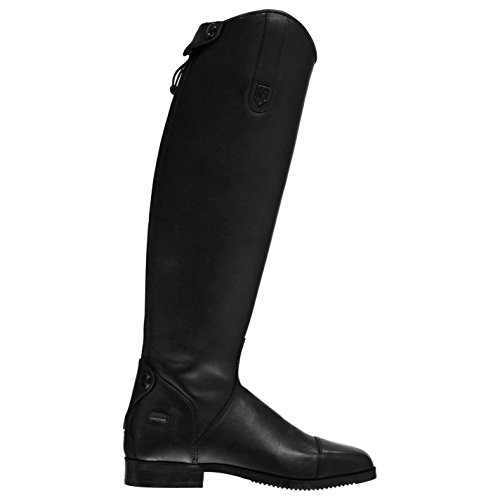 Long Womens Comfortable Riding Competition Togs Boots Vilano Just Fit Black AaH5qx