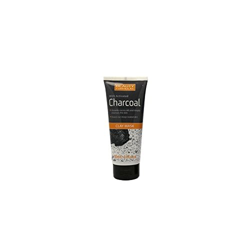 Beauty Formulas Clay Mask With Activated Charcoal 100ml (Clay Formula)