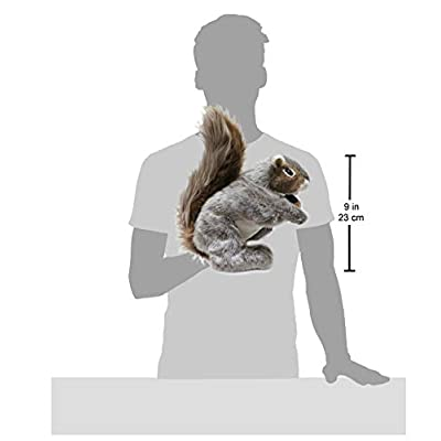 Folkmanis Gray Squirrel Hand Puppet: Toys & Games