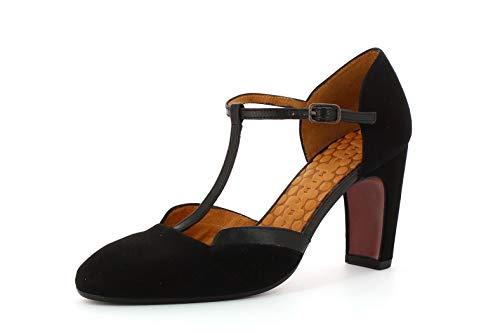 Chie Mihara Xalena Zapatos Con Tacon Y Tira Vertical Para Mujer