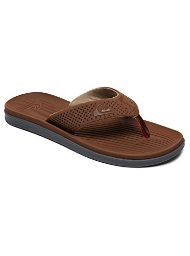 Haleiwa Aqyl100497 Sandales brown orange Brown Plus Pour Quiksilver Homme XwUqaX