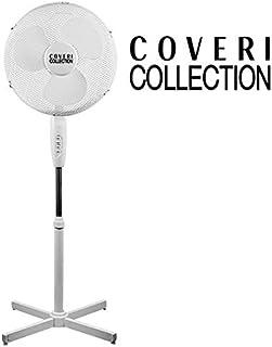 Enrico Coveri Ventilatore A Piantana Con 3 Pale, Altezza 125 Cm, 3 Velocità, 40 Watt Di Potenza