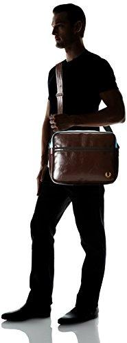 Fred Perry Tracolla Unisex Classic Shoulder Bag Dark Chocolate L5251 114 L5251 Venta Barata Excelente De Verdad PL28wLpe