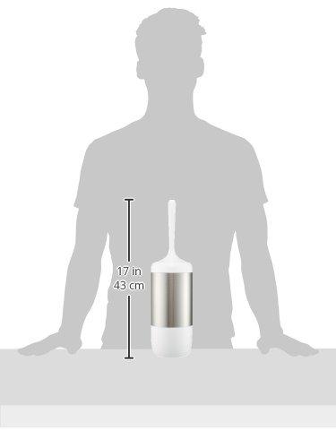 Wenko 21283100 Loft Brosse WC Dimensions 11 x 11 x 41 cm