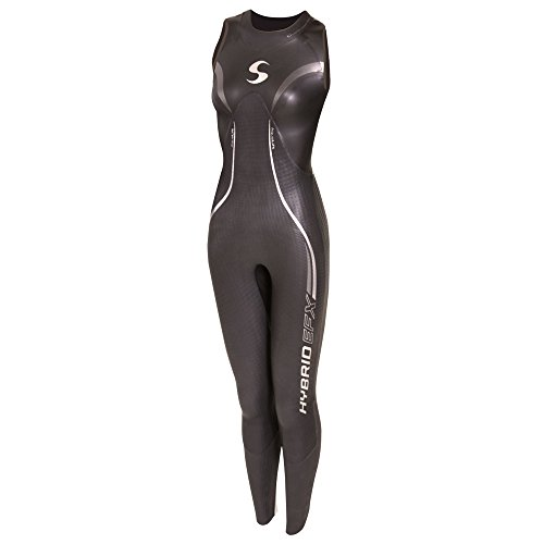 Synergy Hybrid Women's Sleeveless Triathlon Wetsuit - Triathlon Buoyant Wetsuit Most