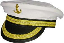 Marine Kapitänsmütze für Erwachsene