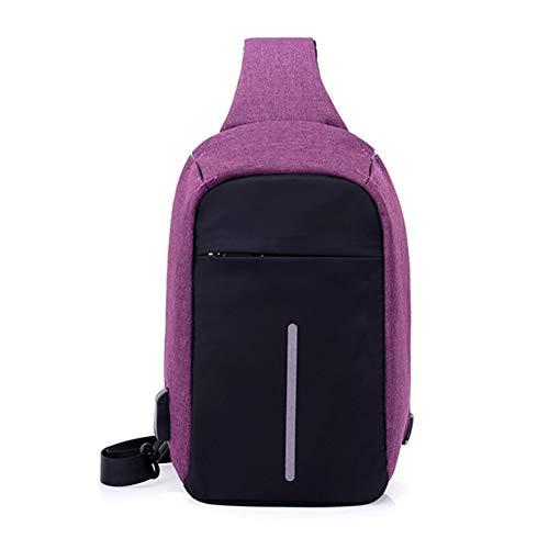 Fietsen Opladen Goal Wind Bag Poort Windbag Voor Kamperen Violet Usb Reizen Met Wandelen Grijs U8wqB4wY