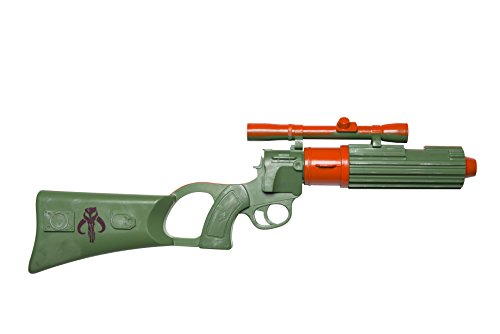 Boba Fett Halloween Costumes (Rubie's Costume Co Men's Star Wars Classic Boba Fett Blaster, Multi, One Size)