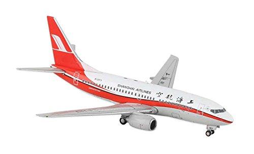 Shanghai Airlines (JC4CSH606 Jc Wings 1:400 Shanghai Airlines (China) B737-700 Model Airplane)