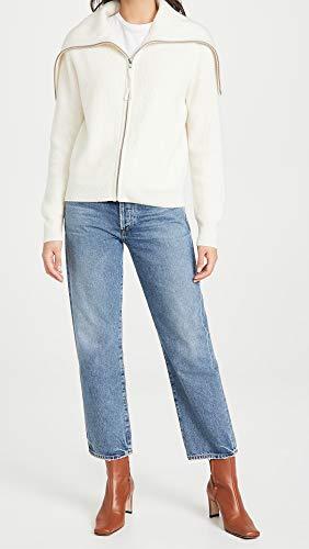 Naadam Women's Cashmere Zip Turtleneck