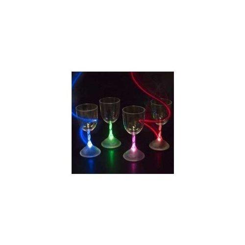 Led Light Up Flashing Wine Glasses - 2