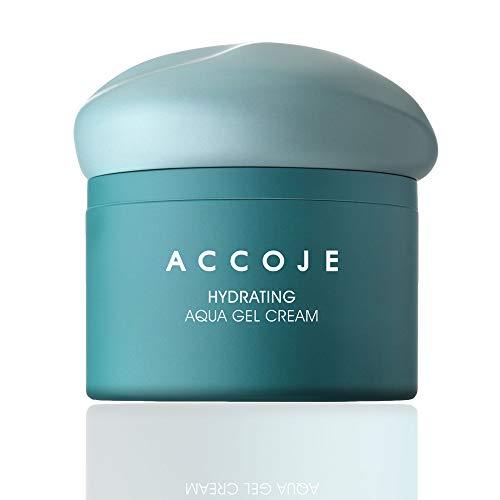 ACCOJE HYDRATING Aqua Gel Cream, 50 ml / 1.7 fl. oz, Moisturizing gel cream contains Jeju black radish extract to strengthen and replenish moisture to the skin