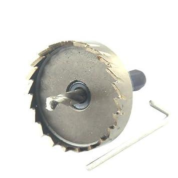 15 mm Di/ámetro de corte Tri/ángulo de Hierro ca/ña de corte Fresa espiral Bit agujero consider/ó