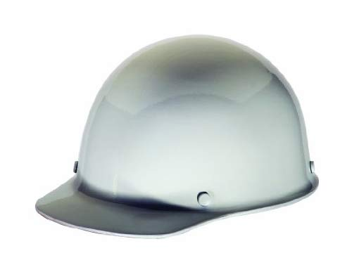MSA 475396 Skull Gard Hard Hat for Elevated Temperatures, 11'' x 8'' x 4'' 5, White, 11'' x 8'' x 4'' 5
