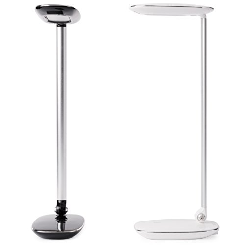 - Onva Pebble Dimmable Led Desk Lamp with USB Charging Port, Minimalist Modern Table Lamps with Touch Control, Acrylic White
