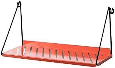 corridoio SZETOSY Metal Floating Ripiani/ /Goodchanceuk Appeso Shlef Hollow Decorativo Ferro mensola da Parete per Soggiorno Ingresso 38/x 16/cm Red Camera da Letto
