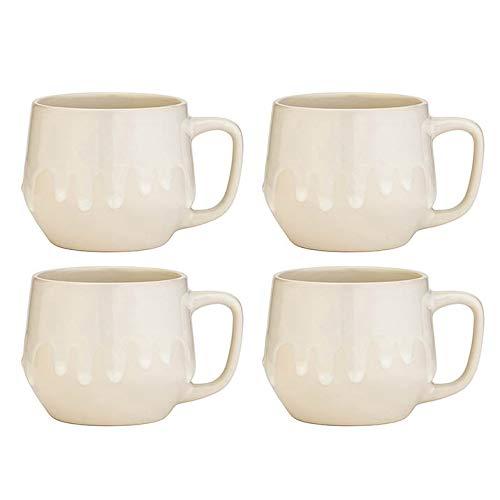 Amici Home 7CN521S4R Quartz Reactive Glaze Ceramic Coffee Mug 20 Fluid Ounces -