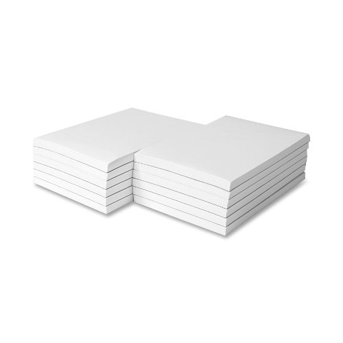 Memorandum Plain Inches Sheets White