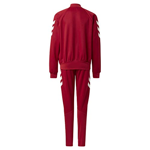 adidas XFG Track Suit Kids', Burgundy, Size M by adidas