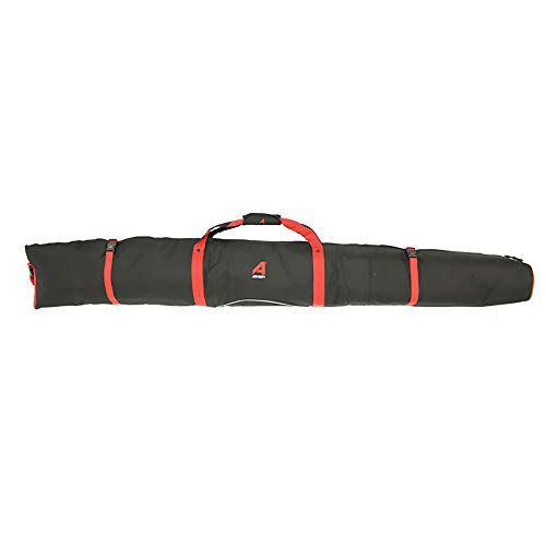 Athalon New Padded Single Ski Bag Black Red 180cm Model for sale  Delivered anywhere in USA
